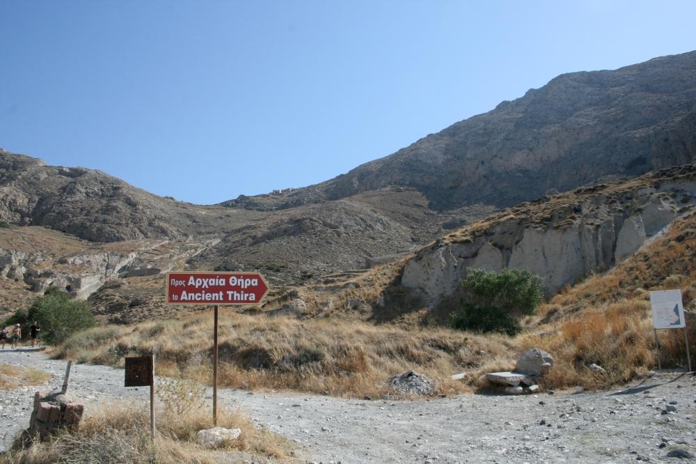 Ancient Thira sign