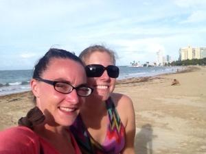 #beachselfie