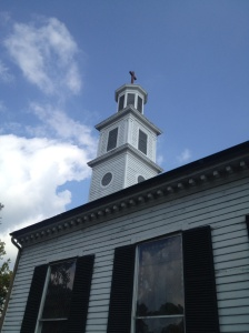 St. John's Church in Richmond is where Patrick Henry made his famous speech.